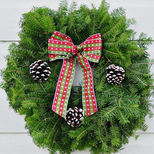 Cedar Wreath - Undecorated - 18