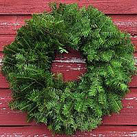 Undecorated Wreath - 30 inch