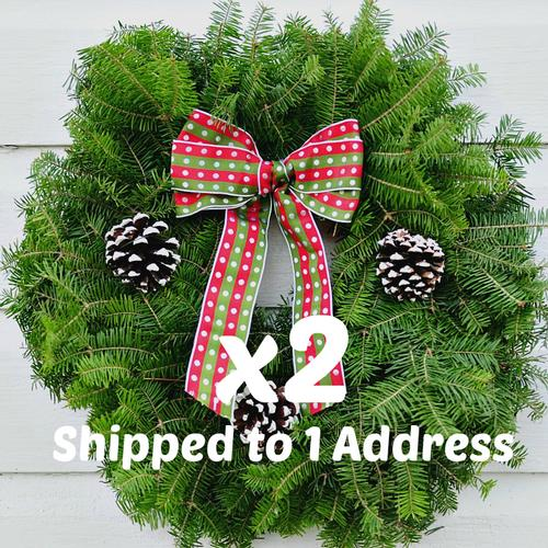 Christmas Joy PAIR - 18 inch ($21 each with this Deal)